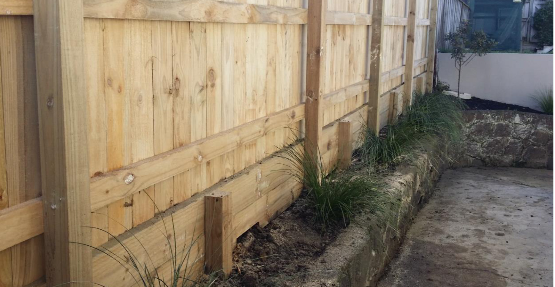 Building A Wooden Retaining Wall Nz - Wooden Designs